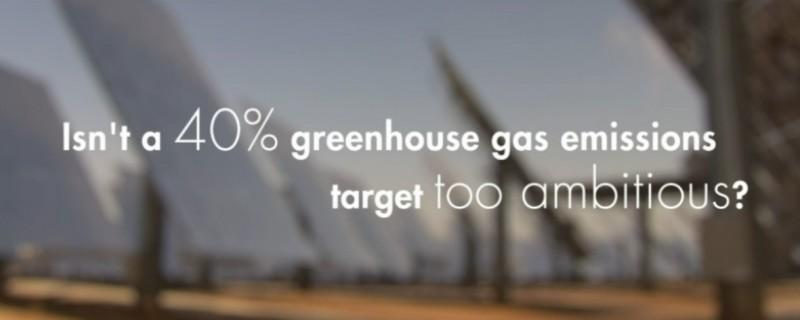 Nuevos objetivos para confrontar el cambio climático