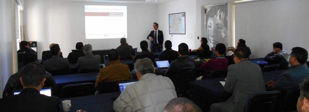 estudio k participa en el seminario sobre ciudades humanas y territorio sostenible